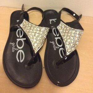 New~ size XL girls jelly sandals